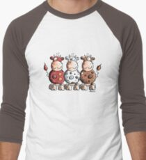 Three colourful cows - Cow - Cartoon - Gift T-Shirt