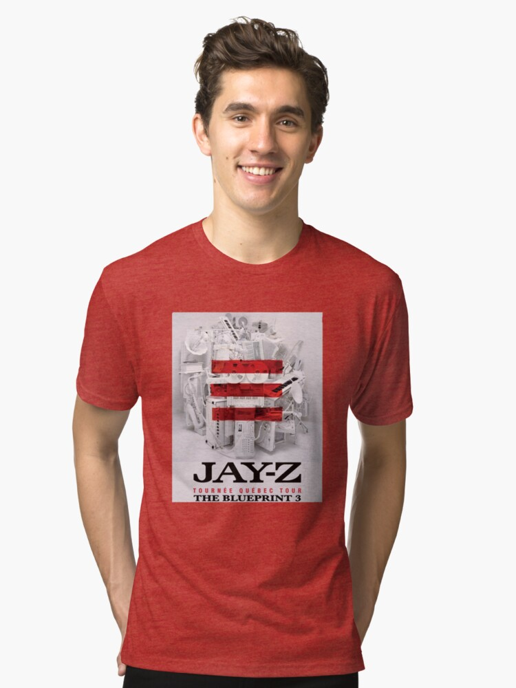 Jay z the blueprint 3 tour 2017 2018 unisex t shirt by jay z the blueprint 3 tour 2017 2018 tri blend t shirt malvernweather Choice Image