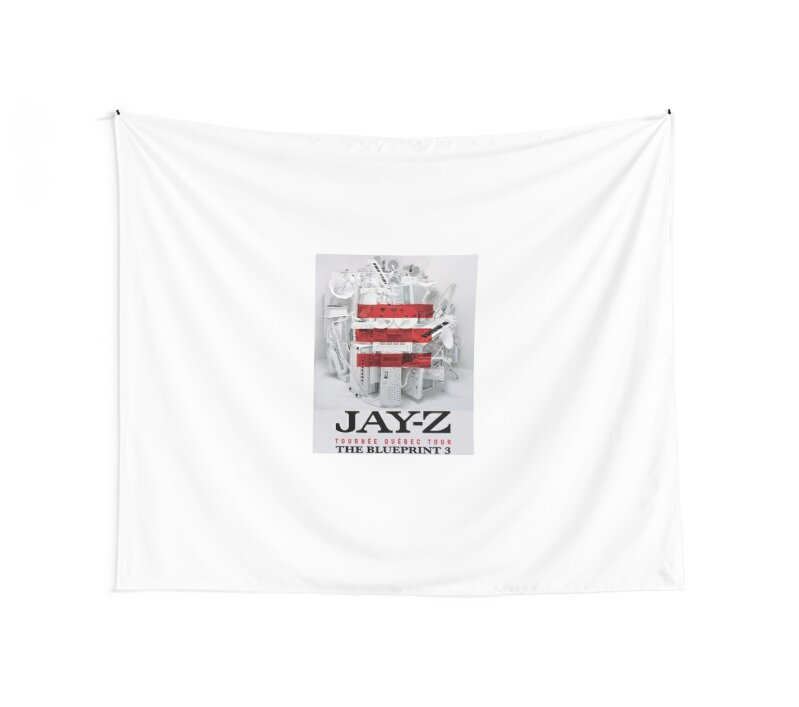 Jay z the blueprint 3 tour 2017 2018 wall tapestries by jay z the blueprint 3 tour 2017 2018 by resshaaprina malvernweather Images