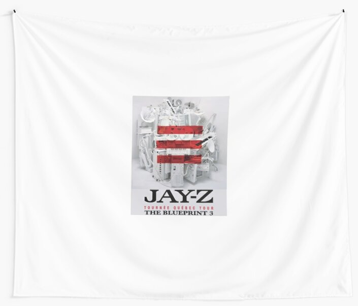 Jay z the blueprint 3 tour 2017 2018 wall tapestries by jay z the blueprint 3 tour 2017 2018 by resshaaprina malvernweather Choice Image