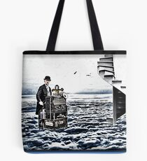 The Busker of Ages Tote Bag