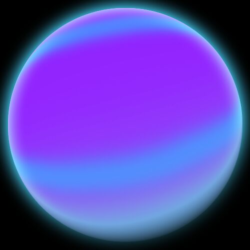 Gasseous Planet by Samantha Reddington