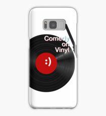 Comedy on Vinyl Samsung Galaxy Case/Skin