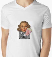 Theresa Dee Men's V-Neck T-Shirt