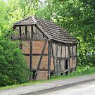 Half-timbered house in Altwustrow by orko