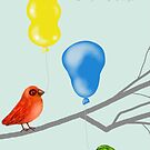 Let's Celebrate Birds with Balloons by Cherie Roe Dirksen