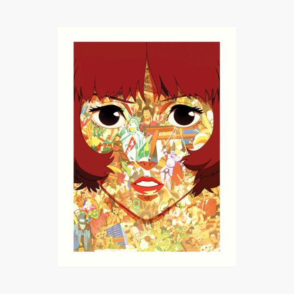 Satoshi Kon Papurika Paprika Anime Wall Poster Japanese Women Wall Decor Poster