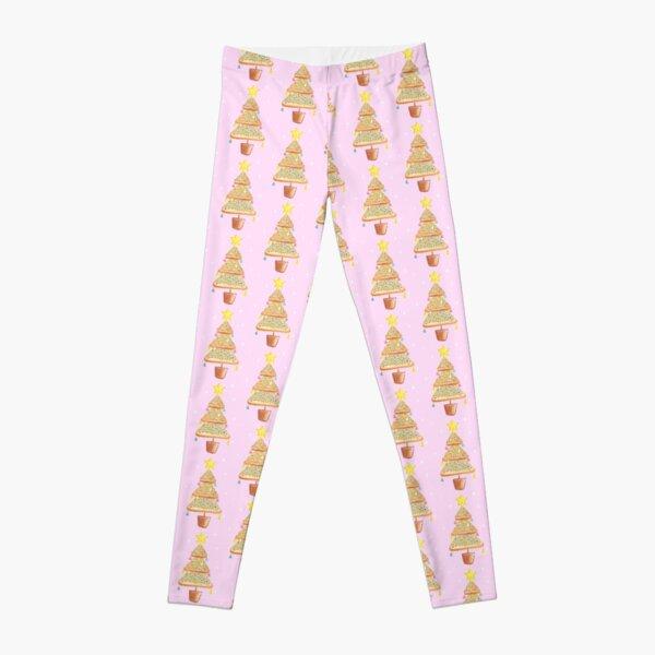 Fairy Christmas - Fairy Bread - Pink Leggings