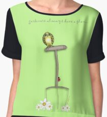 Gardeners Always Have a Plan... Chiffon Top