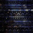 Aztec Black Galaxy Blue by rapplatt
