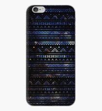 Vinilo o funda para iPhone Aztec Black Galaxy Blue