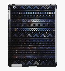 Aztec Black Galaxy Blue iPad Case/Skin