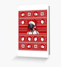PUBG Weihnachten Grußkarte