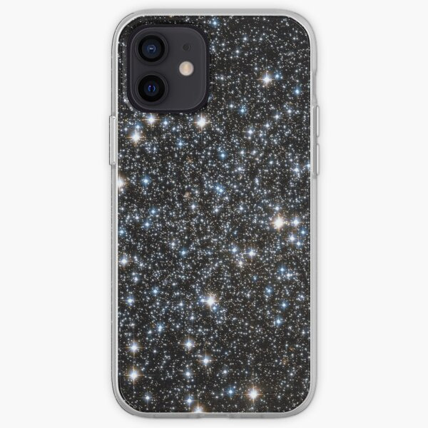 Glitter Galaxy iPhone Soft Case