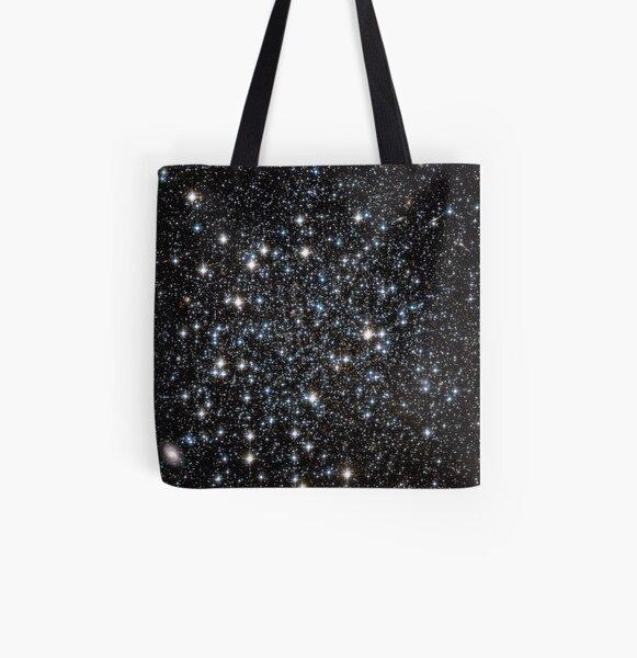 Glitter Galaxy All Over Print Tote Bag