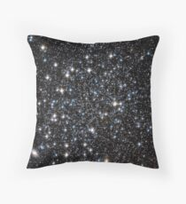 Glitter Galaxy Throw Pillow