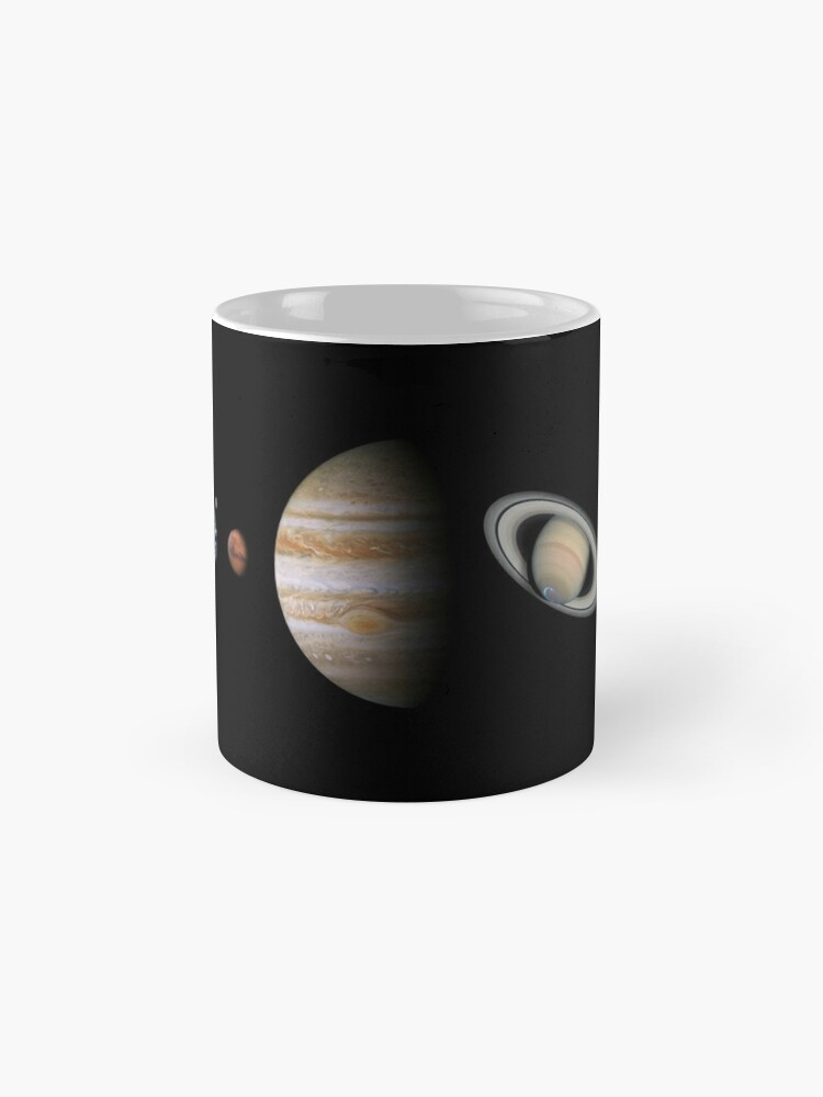 Vista alternativa de Tazas Sistema solar