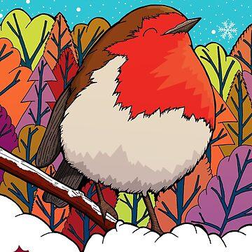 Der große rote Robin von steveswade