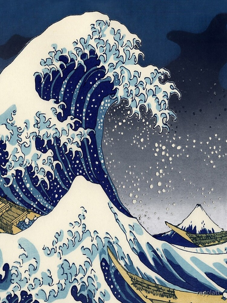 Great Wave: Kanagawa Night by rapplatt