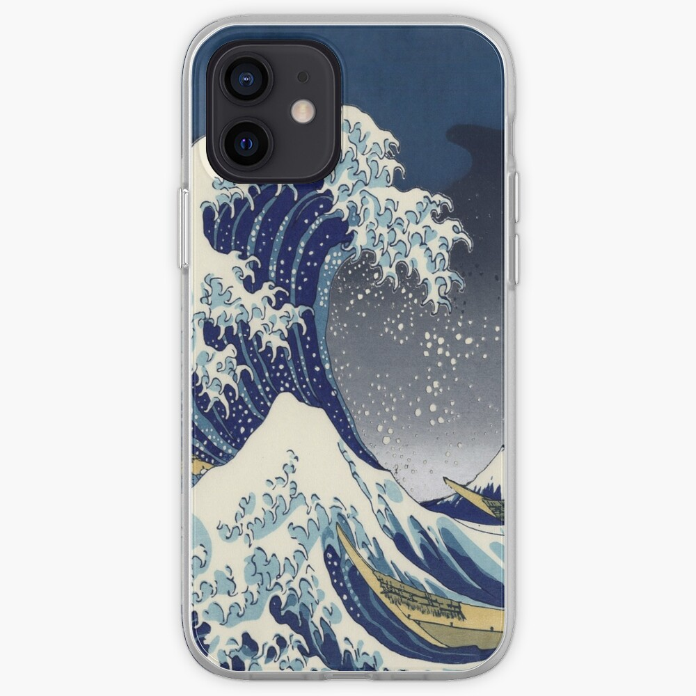 Great Wave: Kanagawa Night iPhone Case & Cover