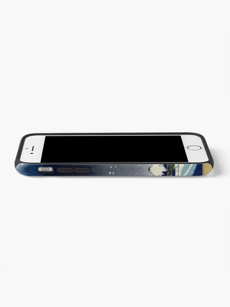 Alternate view of Great Wave: Kanagawa Night iPhone Case & Cover