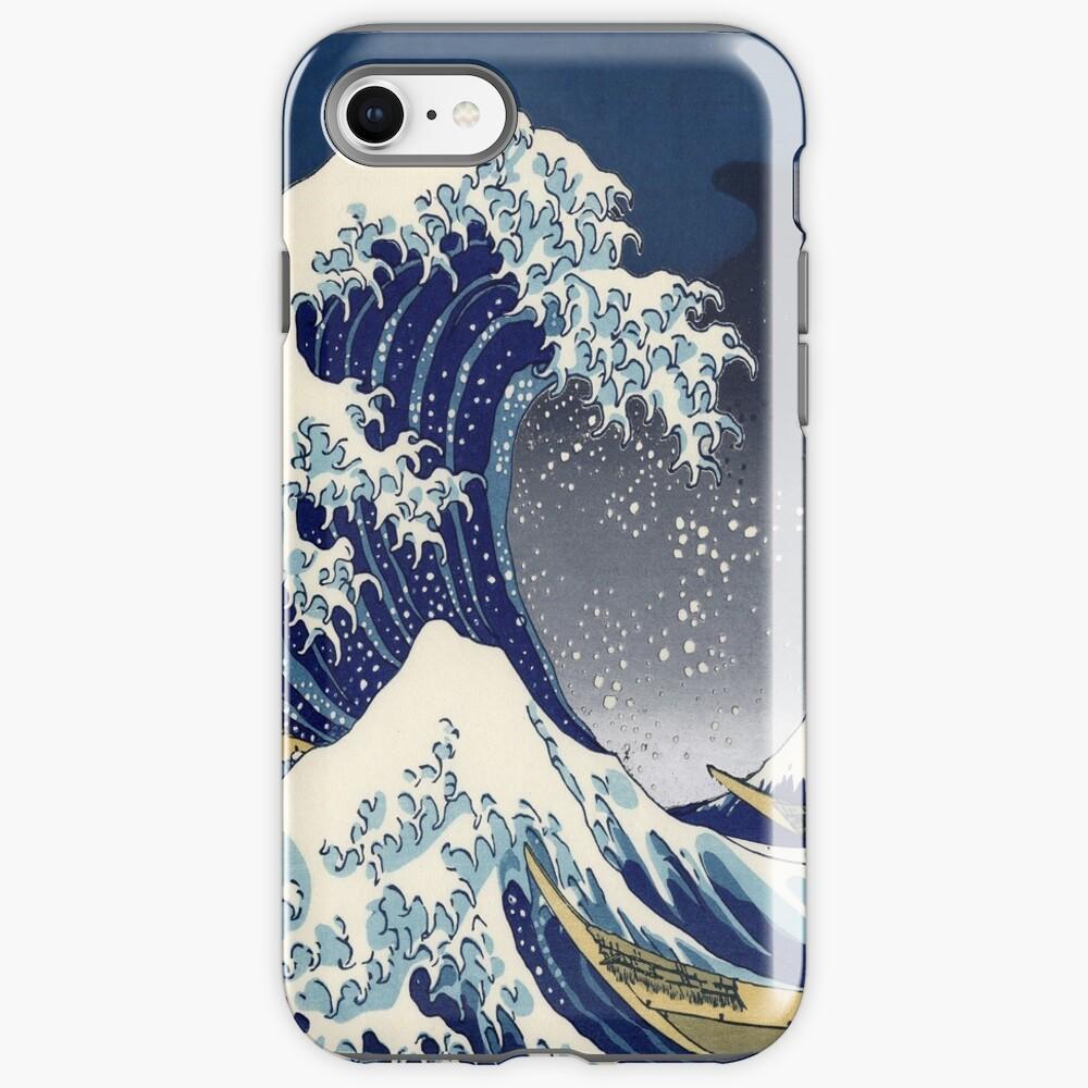 Great Wave: Kanagawa Night iPhone Case & Cover