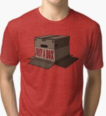 JUST A BOX... Tri-blend T-Shirt