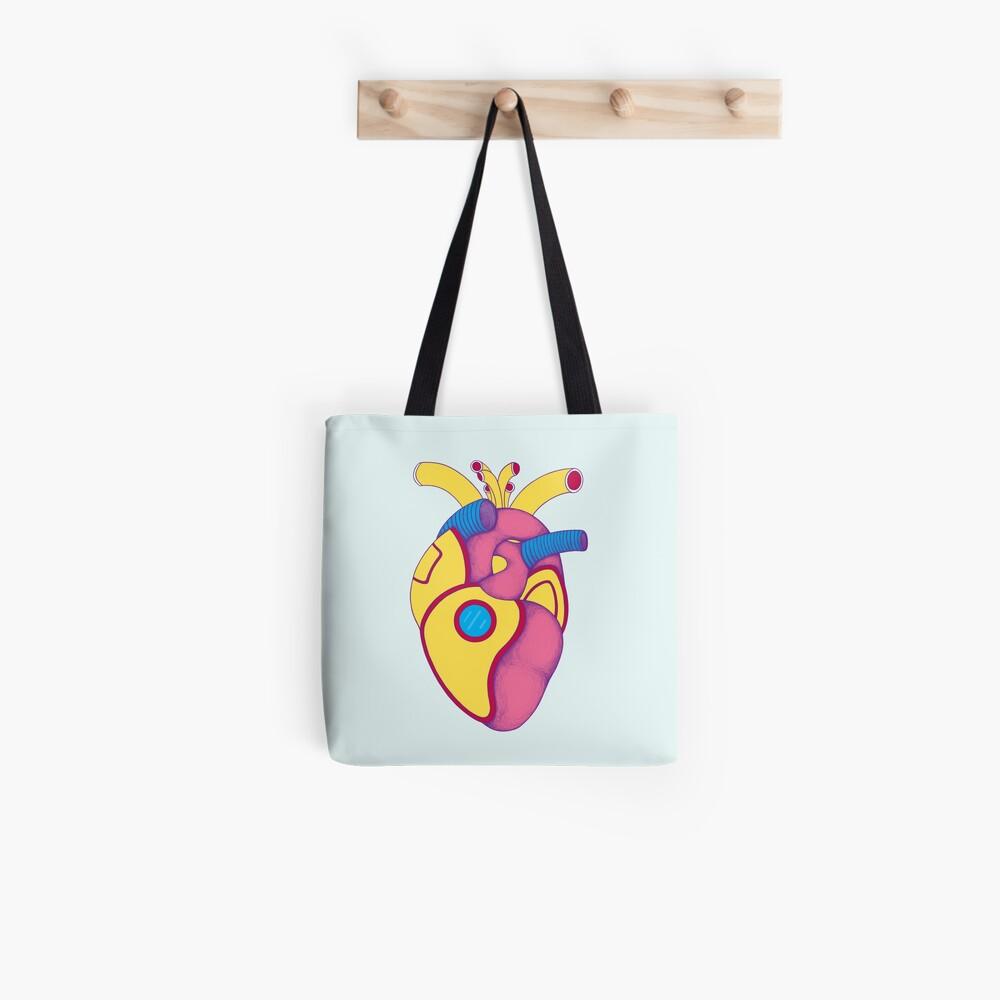 Lemon U-boat Heart Tote Bag