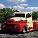 1950 Ford F1 Pickup Dragster by TeeMack