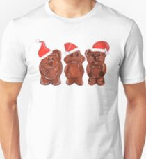 Three Chocolatiers - Freddo, Caramello & Yowie - Christmas Unisex T-Shirt