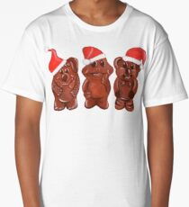 Three Chocolatiers - Freddo, Caramello & Yowie - Christmas Long T-Shirt