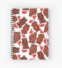 Three Chocolatiers - Freddo, Caramello & Yowie - Christmas Spiral Notebook