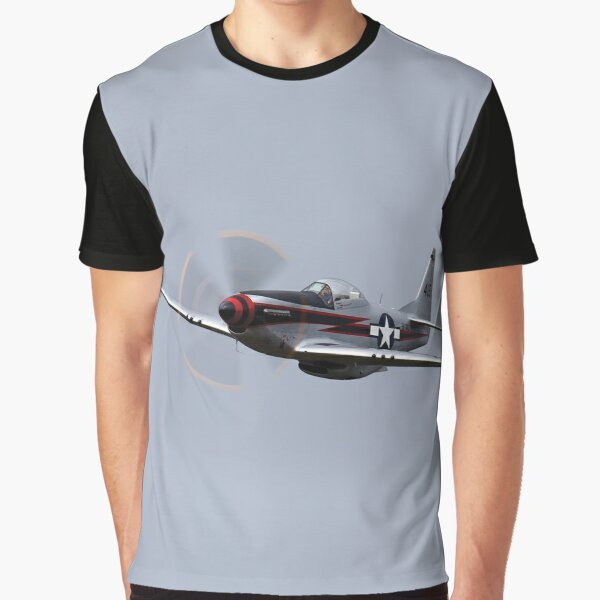 P-51D Mustang flyby Graphic T-Shirt