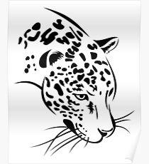 Jaguar head Poster