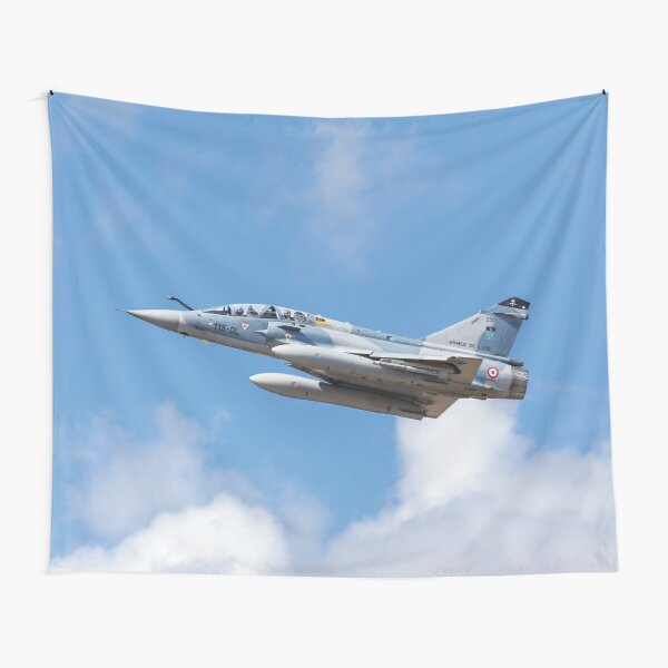 Dassault Mirage 2000B taking off Tapestry