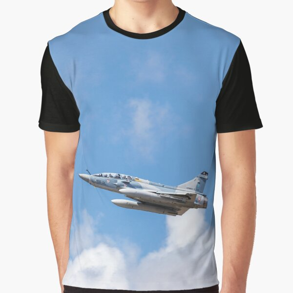 Dassault Mirage 2000B taking off Graphic T-Shirt