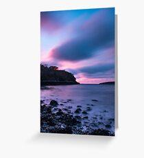 Magenta and Blue at Lochinver, Sutherland, Scotland Greeting Card