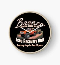 Jeep Recovery Einheit - Ford Bronco 4x4 Uhr