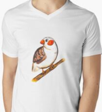 Colorful amadina illustration T-Shirt