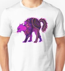 In the Pink, Henna Cat Unisex T-Shirt