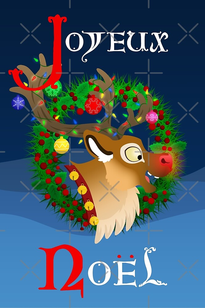 Silly Beasty : Rudolf the red nosed reindeer by Valériane Duvivier