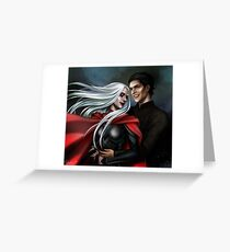 Manon and Dorian Greeting Card