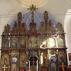 Iconostasis in the monastery * Fenek * by Ana Belaj