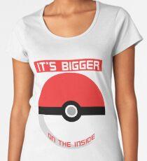 Pokemon - It's bigger on the inside.. Women's Premium T-Shirt