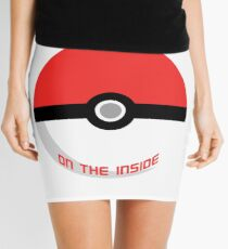 Pokemon - It's bigger on the inside.. Mini Skirt
