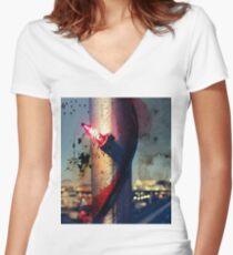 Seeing Clearly Women's Fitted V-Neck T-Shirt
