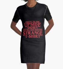 Stanger Things Graphic T-Shirt Dress
