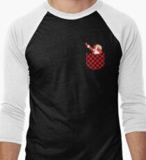 Pocket T-shirt Plaid Shirts Dabbing Santa Christmas Tshirt T-Shirt