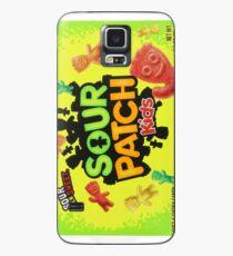 Sour Patch Kids Süßigkeiten Paket vorne Hülle & Klebefolie für Samsung Galaxy