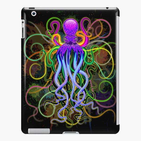 Octopus Psychedelic Luminescence iPad Snap Case